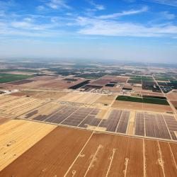 A solar project on top of an old oil field in California's Kern County