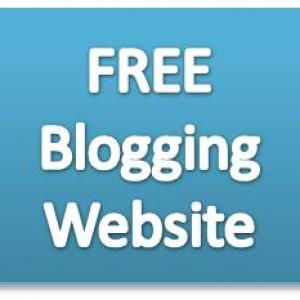 Using A Free Blogging Web Site